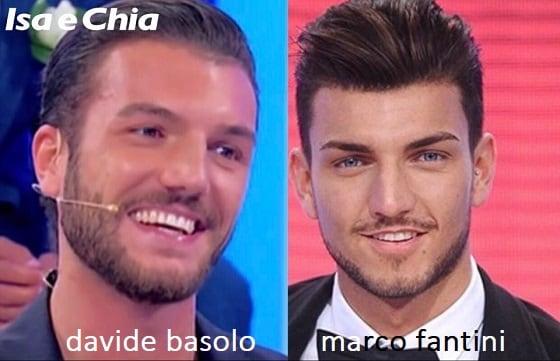 Somiglianza tra Davide Basolo e Marco Fantini