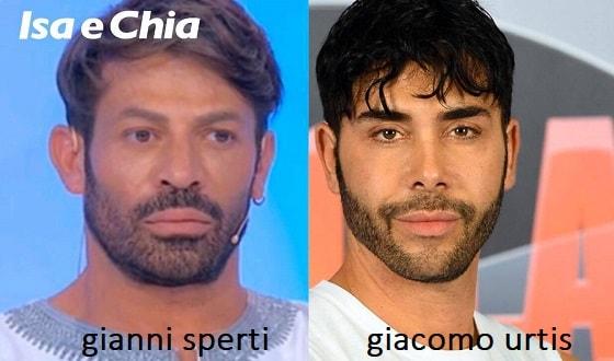 Somiglianza tra Gianni Sperti e Giacomo Urtis