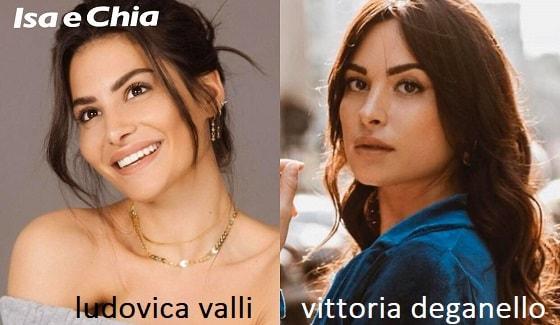 Somiglianza tra Ludovica Valli e Vittoria Deganello