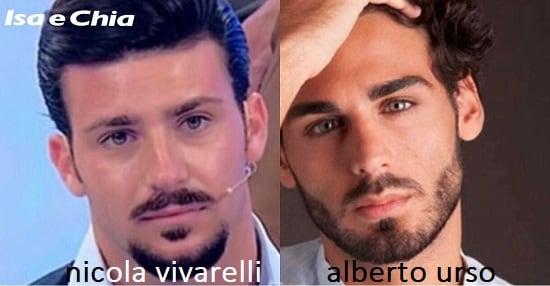 Somiglianza tra Nicola Vivarelli e Alberto Urso