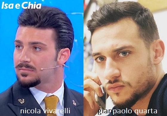 Somiglianza tra Nicola Vivarelli e Gianpaolo Quarta
