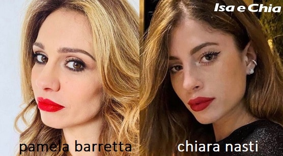 Somiglianza tra Pamela Barretta e Chiara Nasti