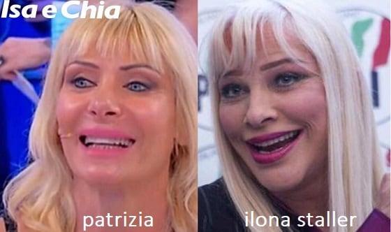 Somiglianza tra Patrizia, dama del Trono over di 'Uomini e D