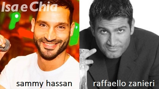 Somiglianza tra Sammy Hassani e Raffaello Zanieri