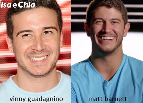 Somiglianza tra Vinny Guadagnino di 'Jersey Shore' e Matt Barnett di 'Love is Blind'