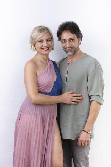 Antonella Elia e Pietro Delle Piane
