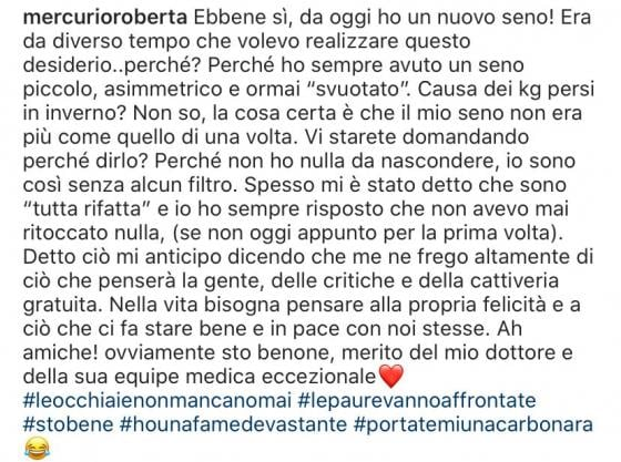 Instagram Mercurio