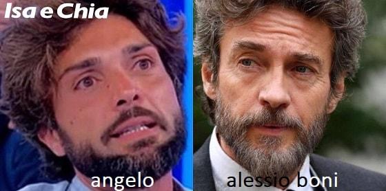 Somiglianza tra Angelo e Alessio Boni