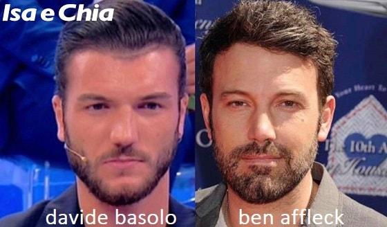 Somiglianza tra Davide Basolo e Ben Affleck