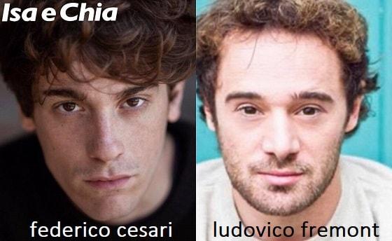 Somiglianza tra Federico Cesari e Ludovico Fremont