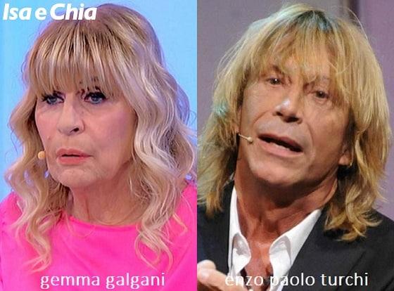 Somiglianza tra Gemma Galgani e Enzo Paolo Turchi
