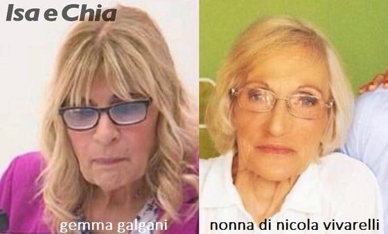 Somiglianza tra Gemma Galgani e la nonna di Nicola Vivarelli
