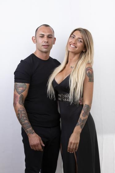 Valeria Liberati e Andrea Ciavy Maliokapis