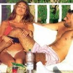 Belen Rodriguez e Gianmaria Antinolfi