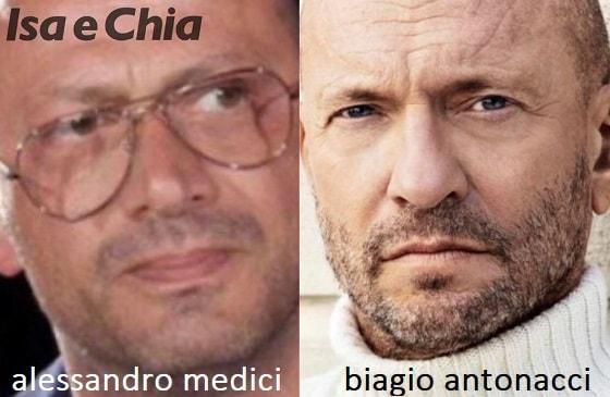 Somiglianza tra Alessandro Medici e Biagio Antonacci