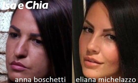 Somiglianza tra Anna Boschetti e Eliana Michelazzo