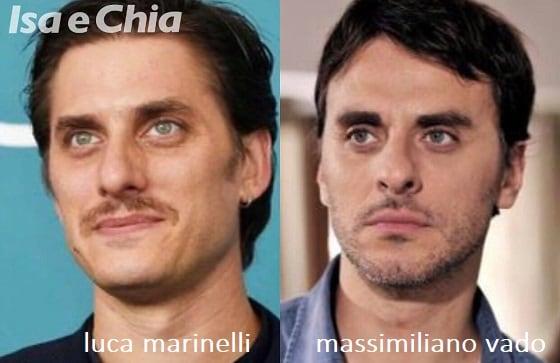 Somiglianza tra Luca Marinelli e Massimiliano Vado