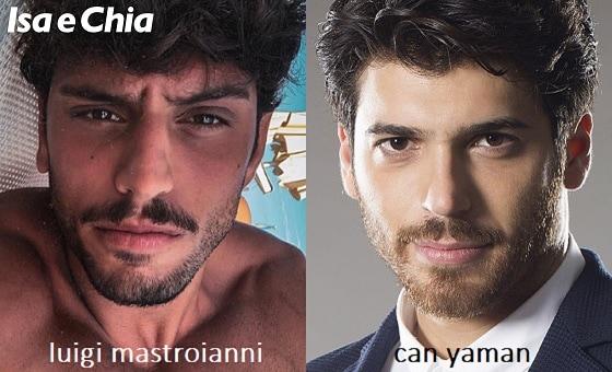 Somiglianza tra Luigi Mastroianni e Can Yaman