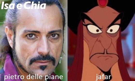 Somiglianza tra Pietro Delle Piane e Jafar
