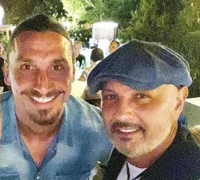 Zlatan Ibrahimovic e Sinisa Mihajlovic