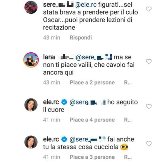 'Uomini e Donne', Eleonora Rocchini si è riavvicinata a Nunzio Moccia? Oscar Branzani sarcastico sui social