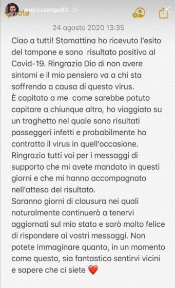 Instagram - Andrea Zenga