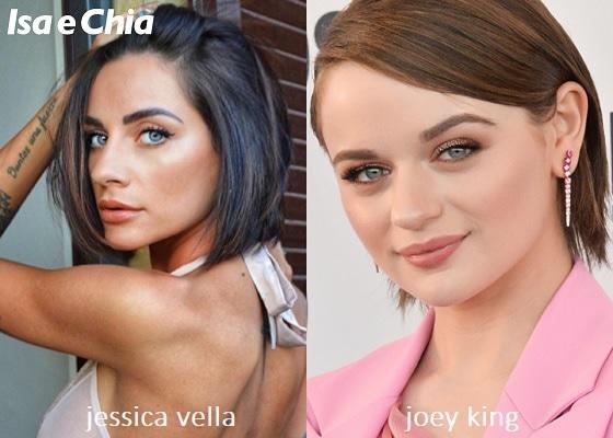 Somiglianza tra Jessica Vella e Joey King