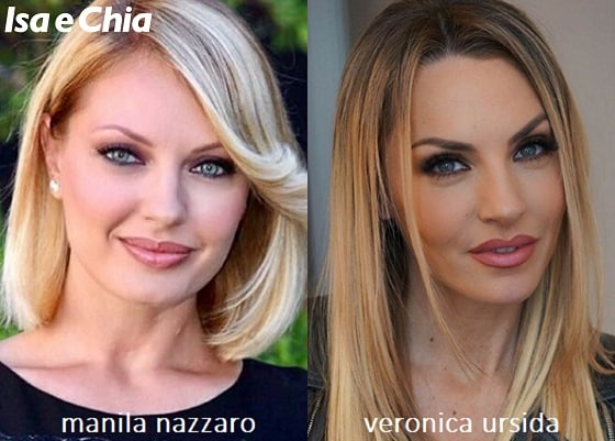 Somiglianza tra Manila Nazzaro e Veronica Ursida