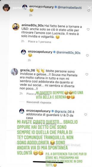Instagram Story Pamela