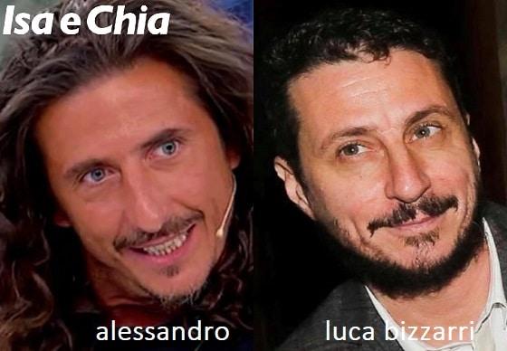 Somiglianza tra Alessandro e Luca Bizzarri