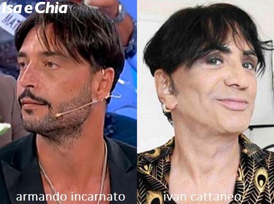 Somiglianza tra Armando Incarnato e Ivan Cattaneo