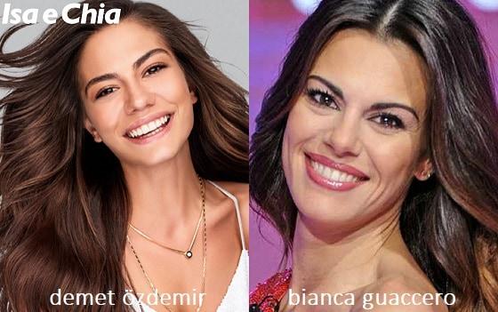 Somiglianza tra Bianca Guaccero e Demet Özdemir di 'Daydreamer'