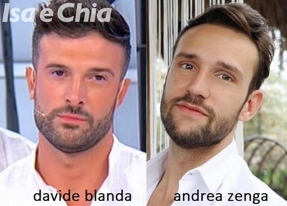 Somiglianza tra Davide Blanda e Andrea Zenga