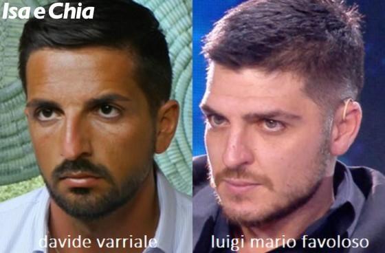 Somiglianza tra Davide Varriale e Luigi Mario Favoloso