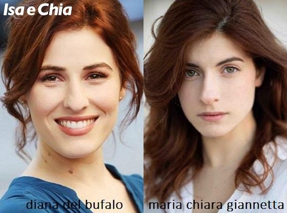 Somiglianza tra Diana Del Bufalo e Maria Chiara Giannetta