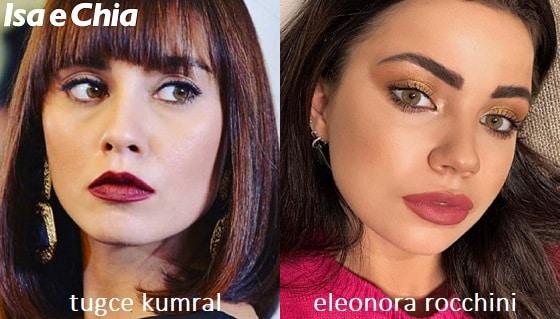 Somiglianza tra Eleonora Rocchini e Tugce Kumral di 'Daydreamer'