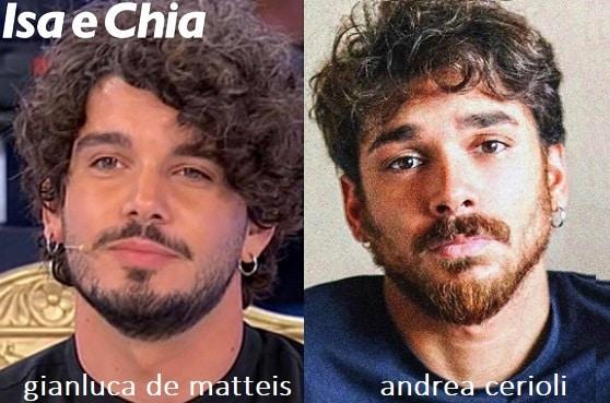 Somiglianza tra Gianluca De Matteis e Andrea Cerioli