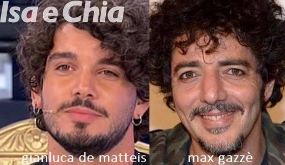 Somiglianza tra Gianluca De Matteis e Max Gazzè