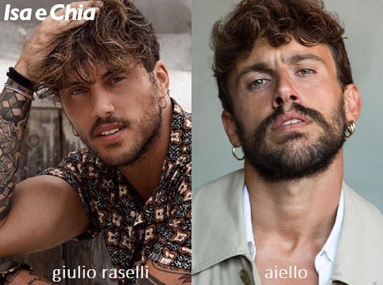 Somiglianza tra Giulio Raselli e Aiello