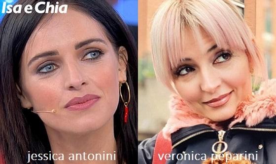 Somiglianza tra Jessica Antonini e Veronica Peparini