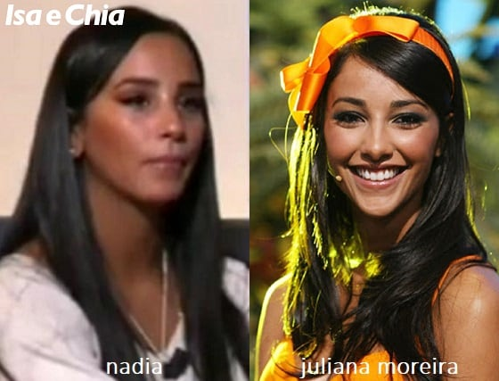 Somiglianza tra Nadia di 'Temptation Island 8' e Juliana Moreira