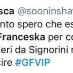 """'Gf Vip 5', Franceska Pepe difesa sui social dopo la sfuriata di Alfonso Signorini. Kikò Nalli non ci sta: """"È stata martoriata!"""" (Video)"""