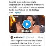 'Gf Vip 5', nella notte Tommaso Zorzi, Elisabetta Gregoraci e Francesco Oppini ironizzano sul momento tra Gabriel Garko e Adua Del Vesco scatenando l'indignazione del web