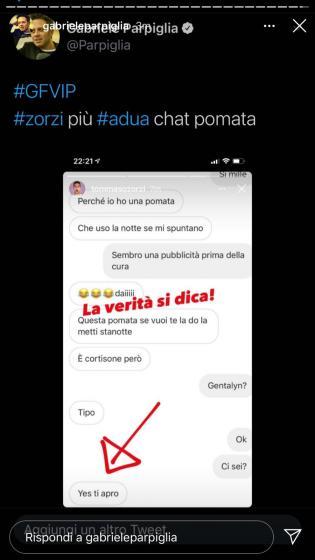 Instagram Story Parpiglia