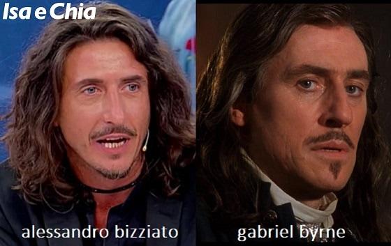 Somiglianza tra Alessandro Bizziato, cavaliere del Trono over di 'Uomini e Donne', e Gabriel Byrne