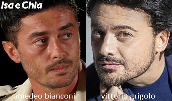 Somiglianza tra Amedeo Bianconi e Vittorio Grigolo