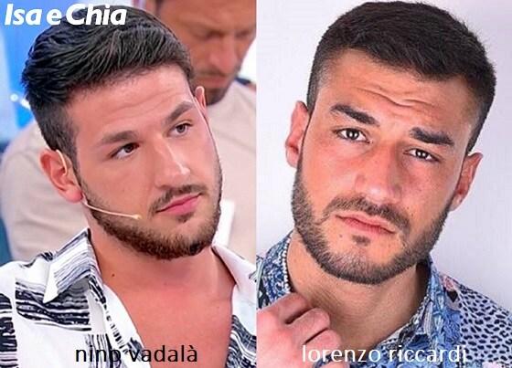 Somiglianza tra Nino Vadalà e Lorenzo Riccardi