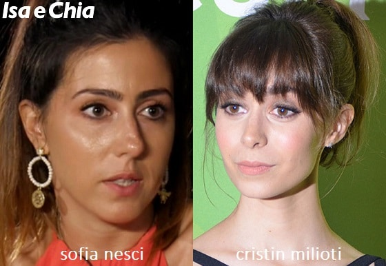 Somiglianza tra Sofia Nesci e Cristin Milioti di 'How I Met Your Mother'