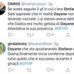 Twitter - Dayane e Stefano