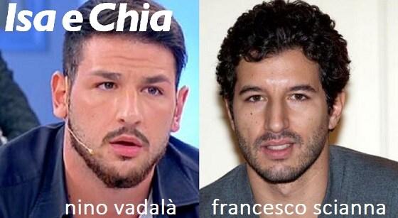 Somiglianza tra Nino Vadalà e Francesco Scianna